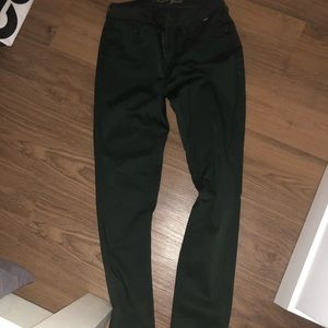 Green (evergreen color) pants in size 30/32